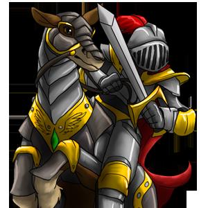 Mounted: Prince
